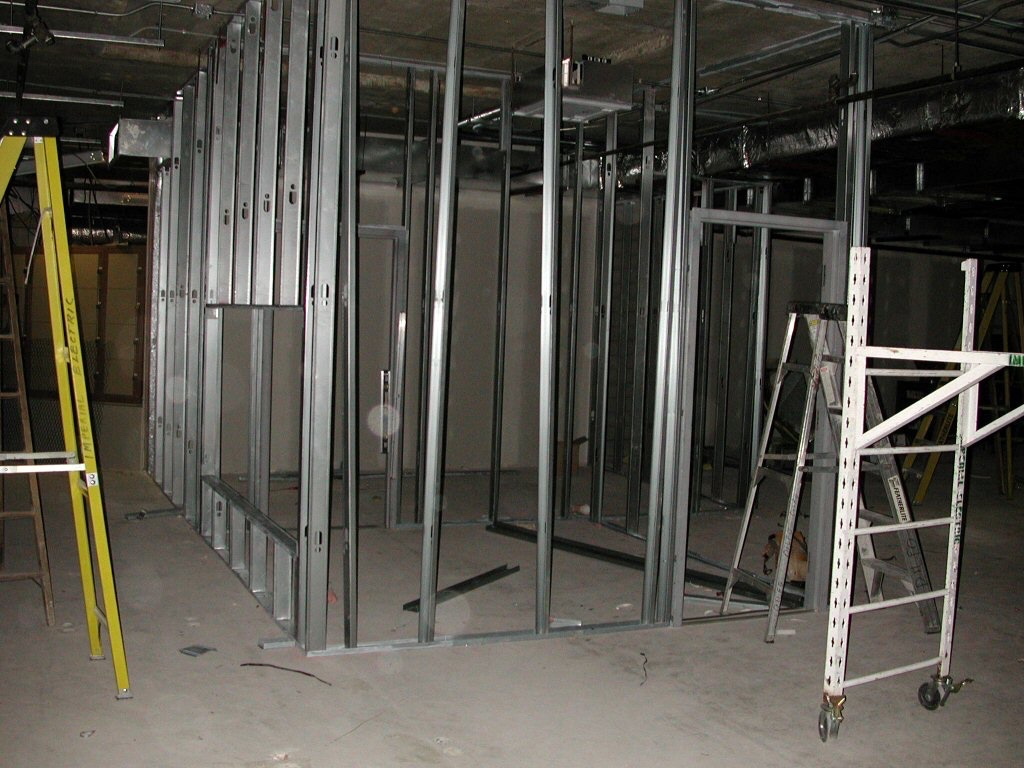 Framing office bank