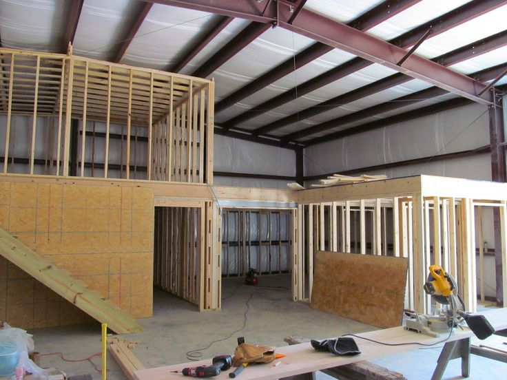 Framing- Warehouse Office